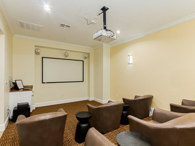 Community Amenities- Movie Theater at Windsor at Harper's Crossing