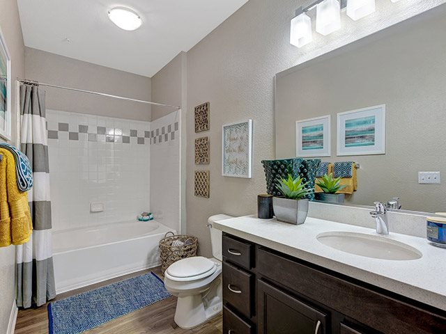 Modern Bathroom at Windsor at Aviara, Carlsbad, CA
