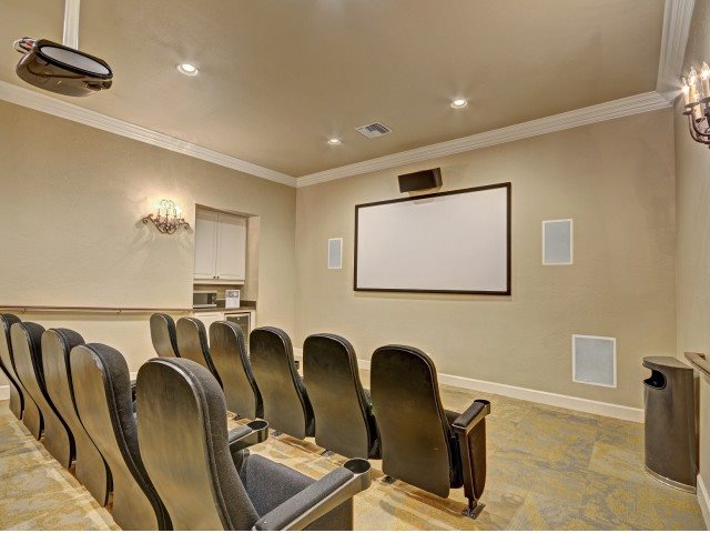 Theatre Room at Windsor at Aviara, Carlsbad, CA, 92011