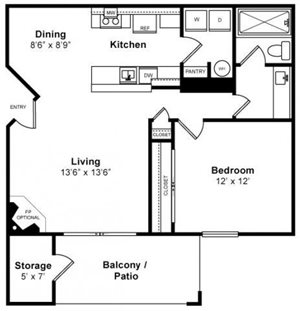 Beautiful Floorplan at Mission Pointe by Windsor,  Sunnyvale, CA, 94089