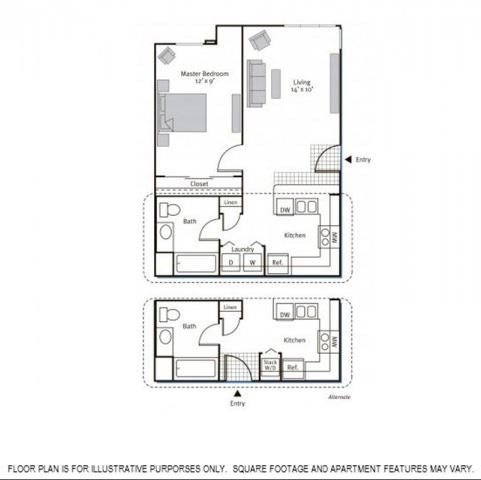 Pavona Apartments | 1 & 2 Bedroom Apartments in San Jose | Floor Plans
