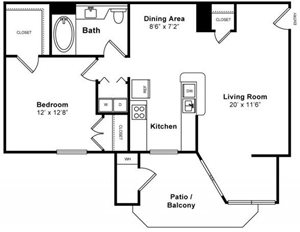 Cypress Floorplan at Windsor at Redwood Creek
