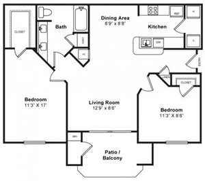 Mulberry Floorplan at Windsor at Redwood Creek