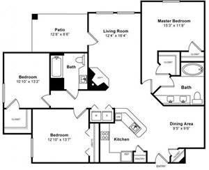 Sequoia Floorplan at Windsor at Redwood Creek
