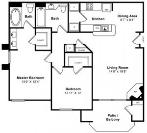 Sycamore Floorplan at Windsor at Redwood Creek