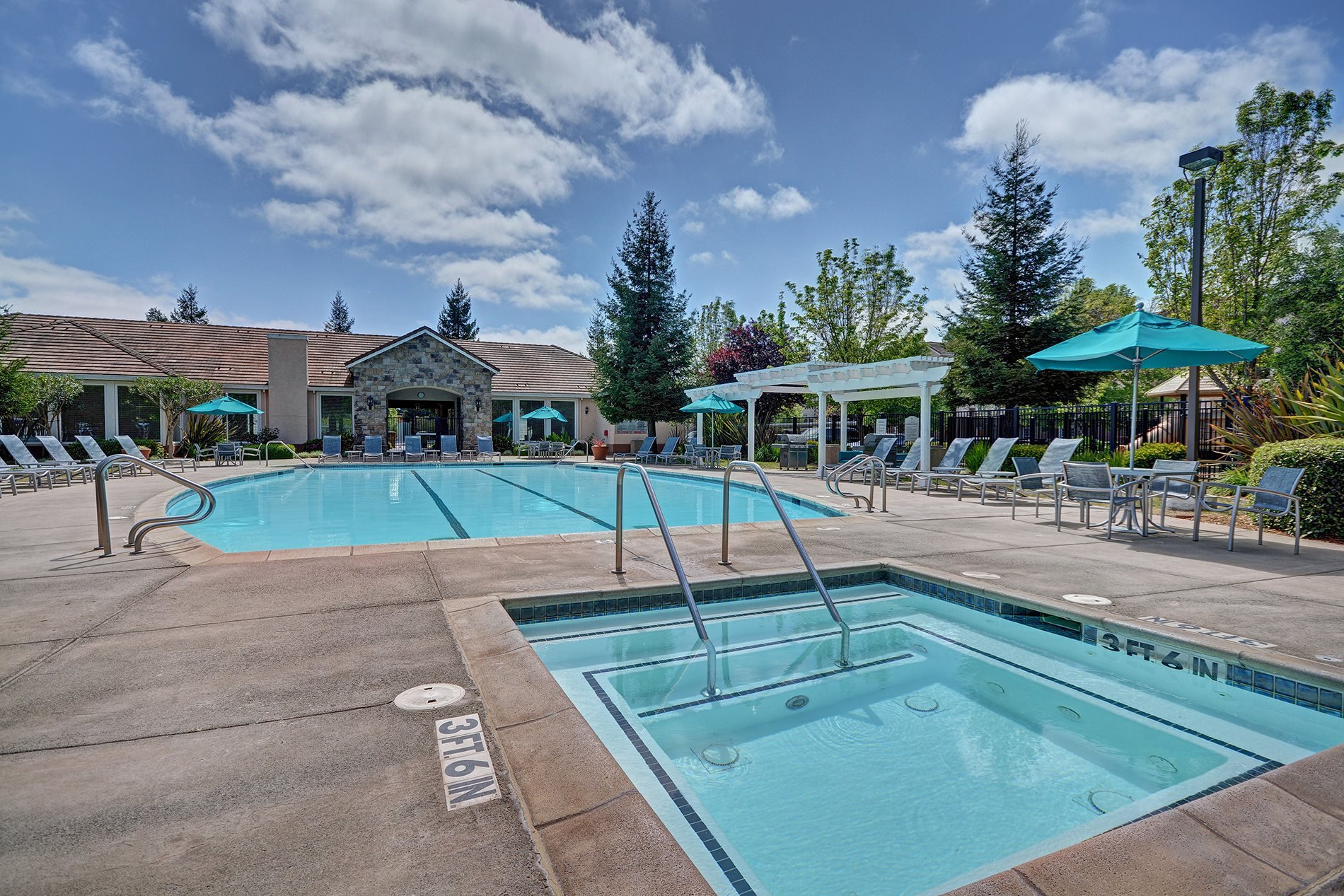 Resort Style Pool at Windsor at Redwood Creek, 94928