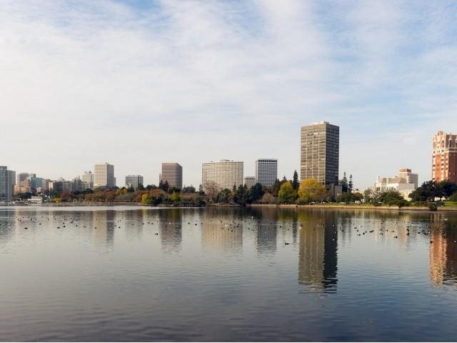Beautiful Lake Merritt is just a few blocks away. at Allegro at Jack London Square, 240 3rd Street Oakland