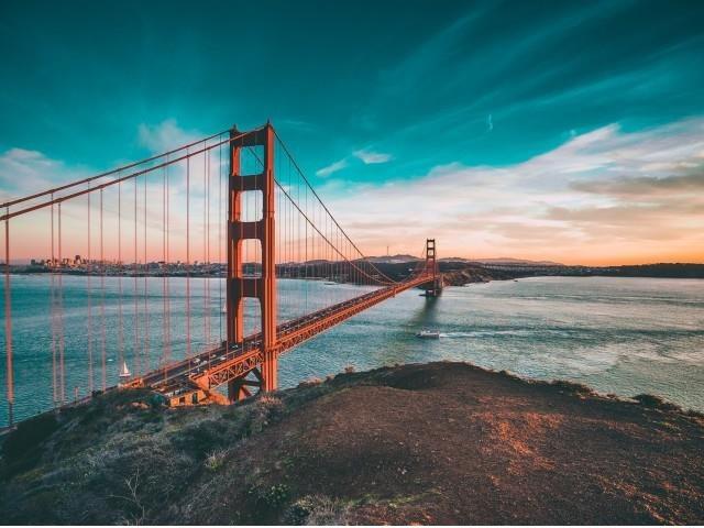Take the ferry to San Francisco.