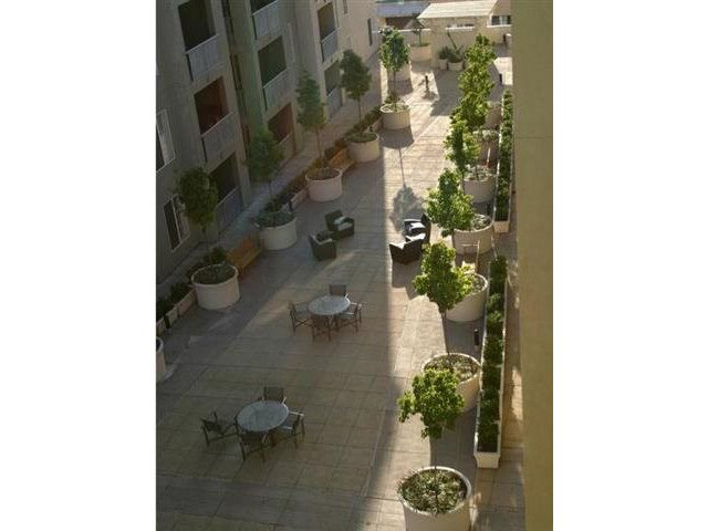 Our serene courtyard is a great place to relax.