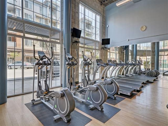 Our fitness center is open 24/7.