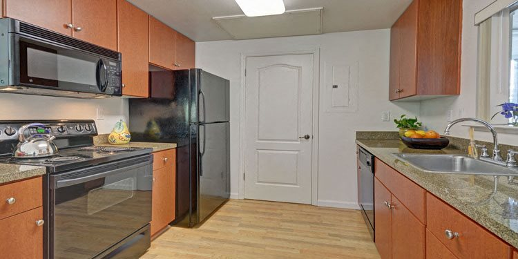 Spacious Kitchen with Pantry Cabinet at The Kensington, 94566