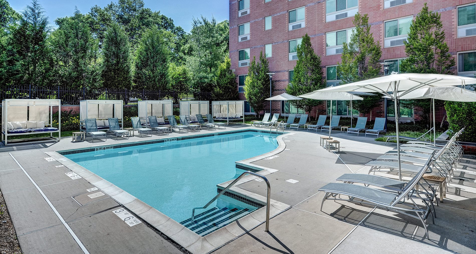 Pool Cabana & Outdoor Entertainment Bar at Windsor at The Gramercy, 2 Canfield Ave., White Plains, NY 10601