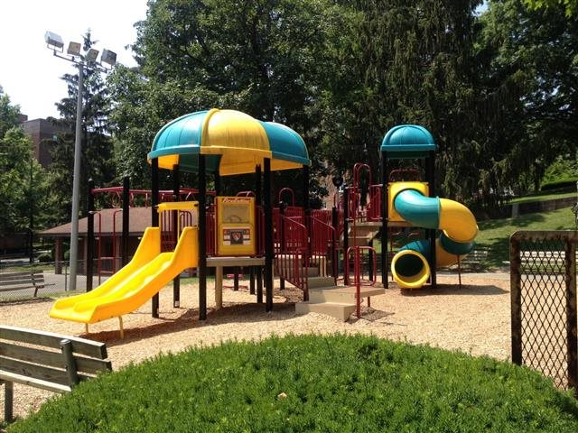 Enjoy Turner Parks beautiful playground and walking trails across the street.