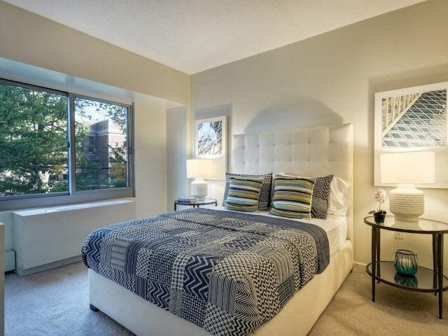 Large bedrooms able to accommodate almost any bedroom set.