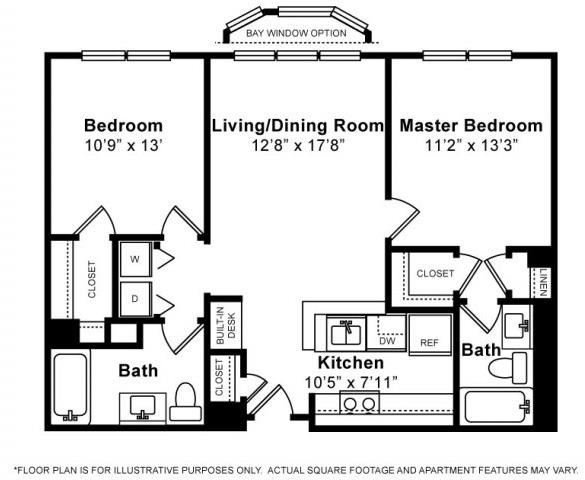 Floorplan at Windsor at The Gramercy, 2 Canfield Ave., White Plains, NY 10601