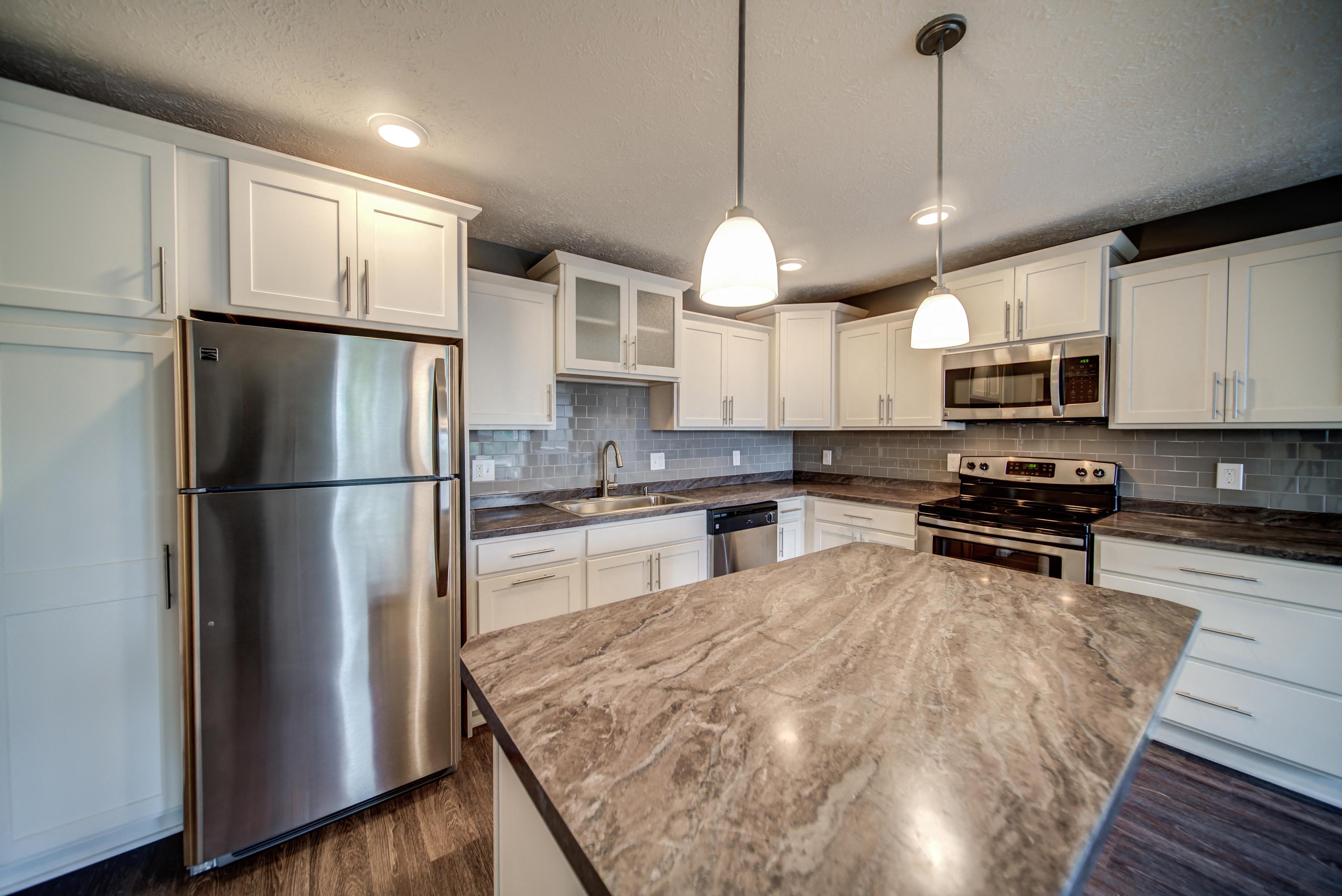 Beautiful White Cabinets Kitchen