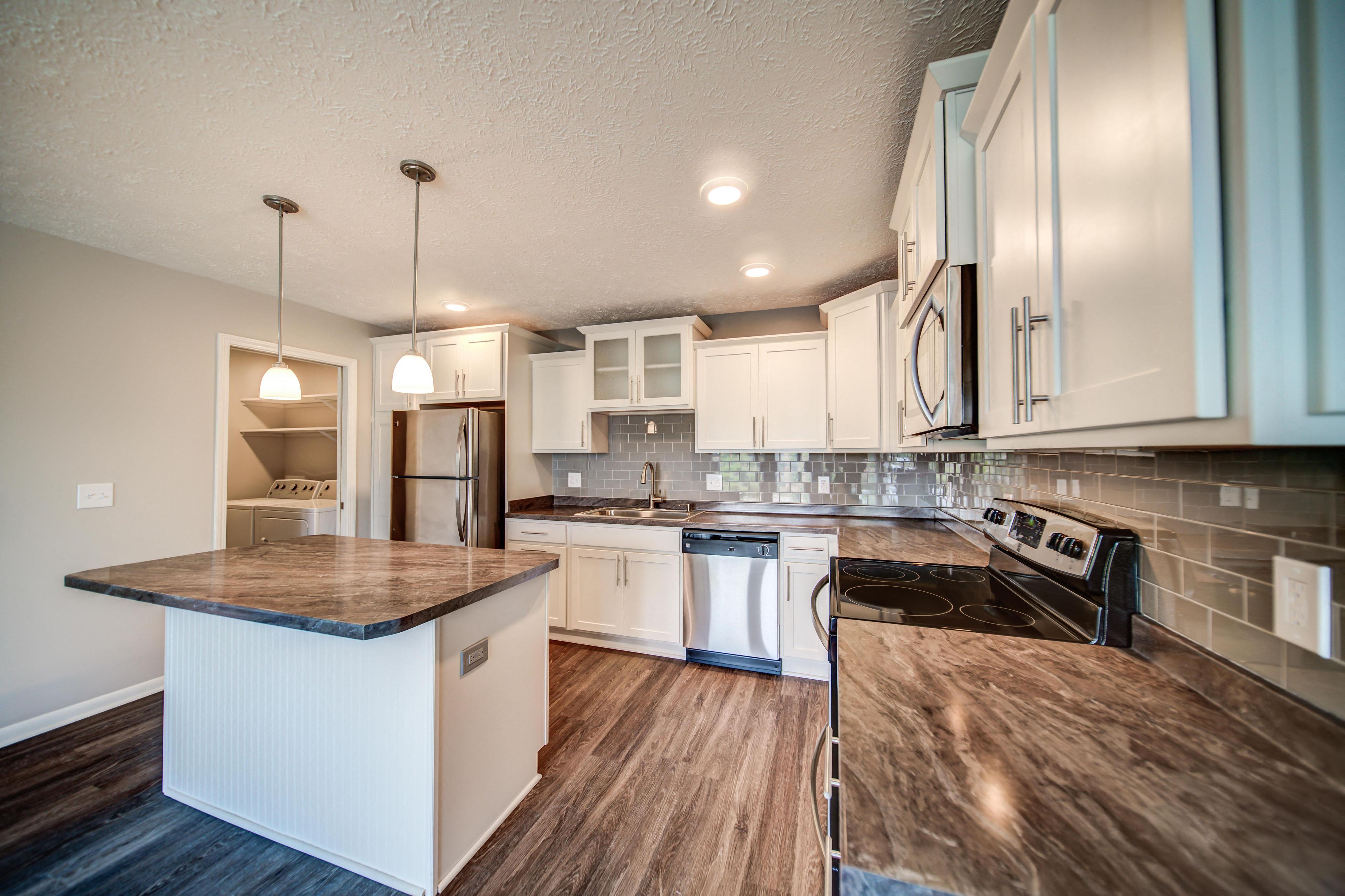Updated Kitchen Pine Lane Estates Apartments On Lake Lansing Road, Lansing  Michigan