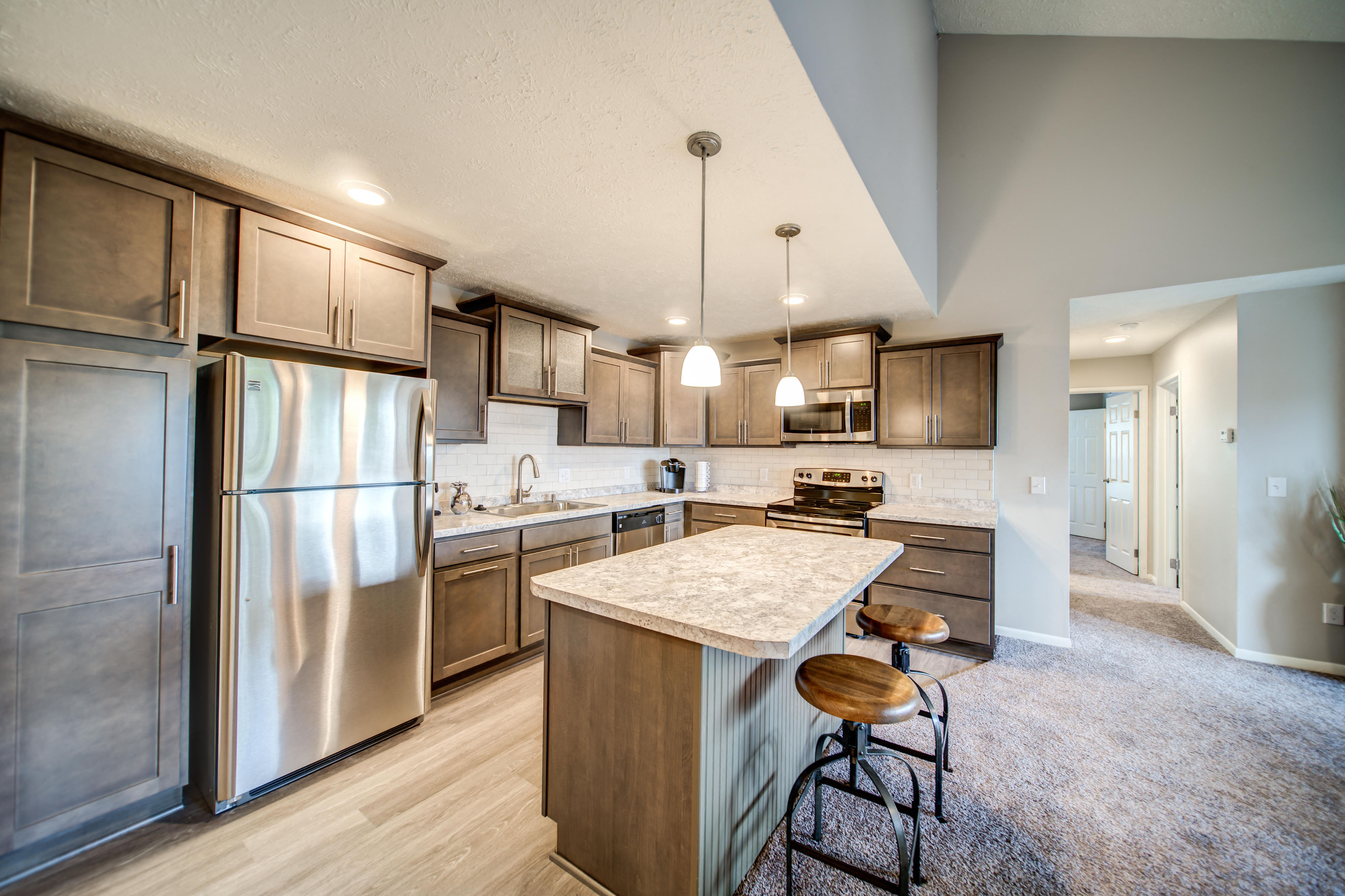 Luxury Remodeled Kitchen Area