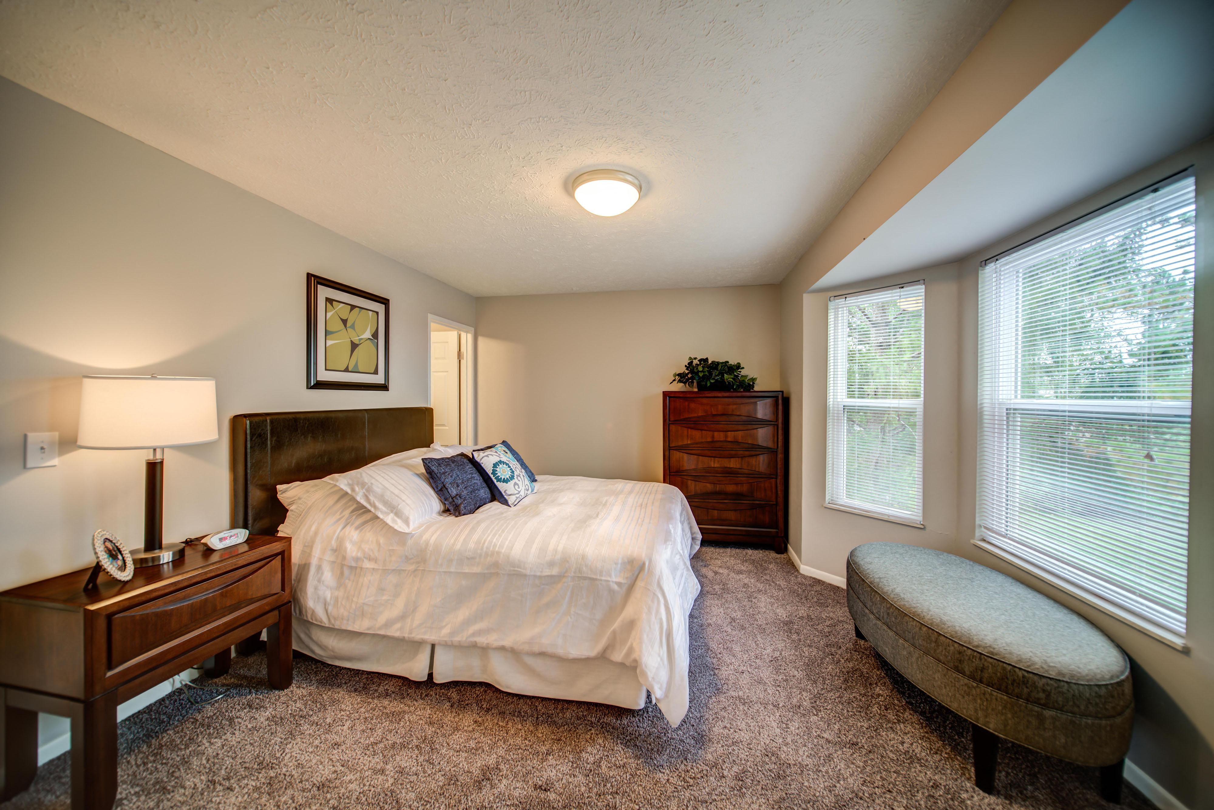 Bay Window in Bedroom