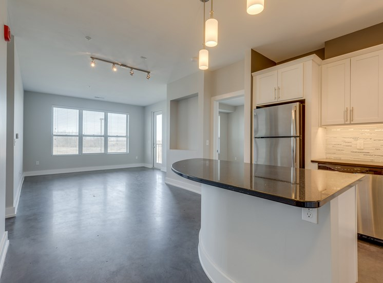 Kitchen Vista at the Heights of Eastwood Apartments near Eastwood Towne Center