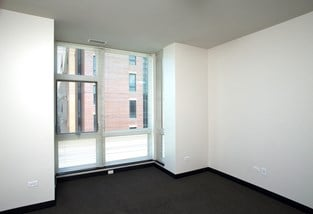 Image of Park Boulevard IIB bedroom with view of layout and view of large windows