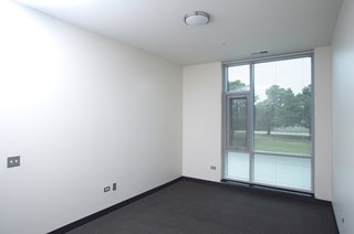 Image of Park Boulevard IIB bedroom with view of layout and large windows with views