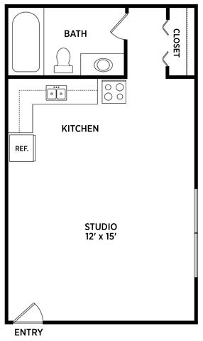 Studio Apartment East Lansing Michigan