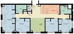 4 Bedroom/2 Bath
