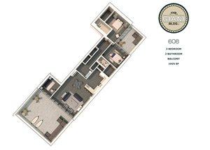 3 Bed 2 Bath Balcony