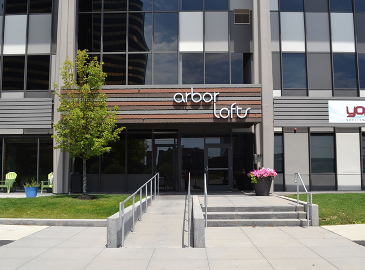 Arbor Lofts Entrance