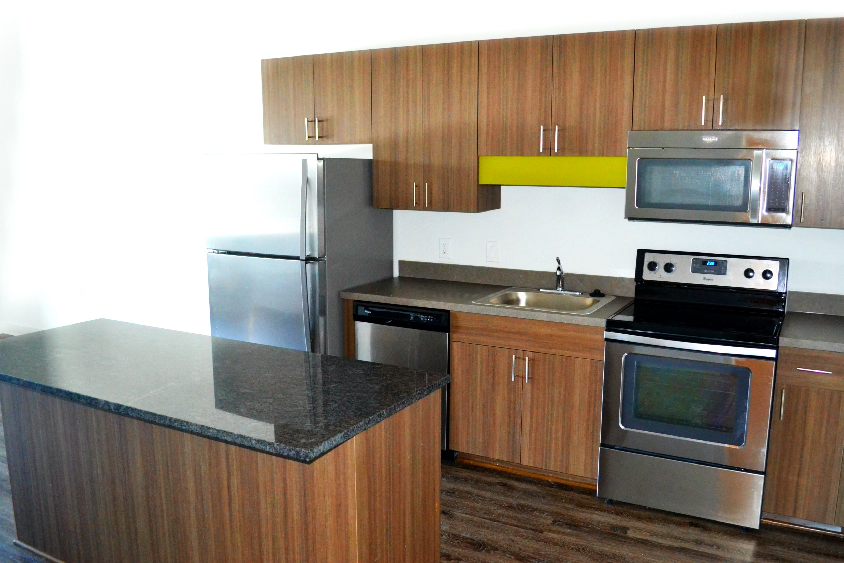 Fully Equipped Kitchen at at Arbor Lofts