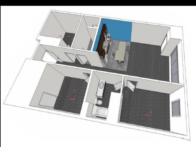 Country: Three Bedroom Floor Plan 11