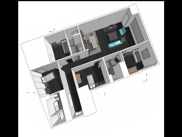 Region 4: Four Bedroom Floor Plan 15