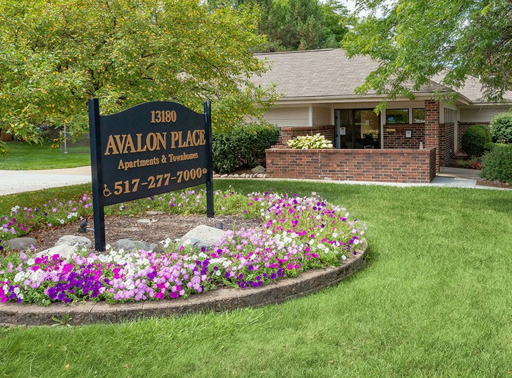 Front Entrance at Avalon Place