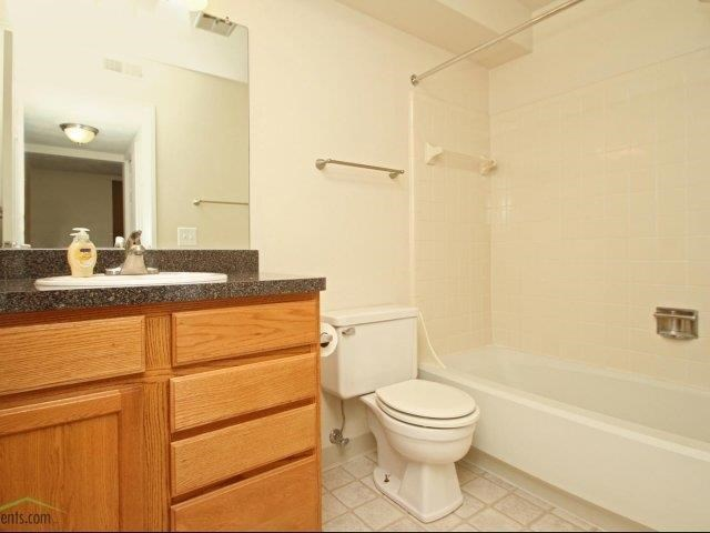 Bathroom at Avalon Place