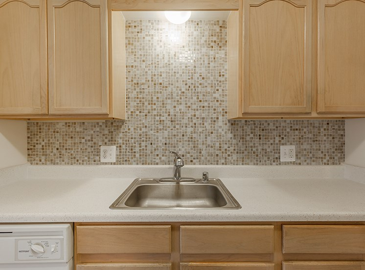 Stainless Steel Sink at Cranbrook Center Apartments,Southfield, 48076