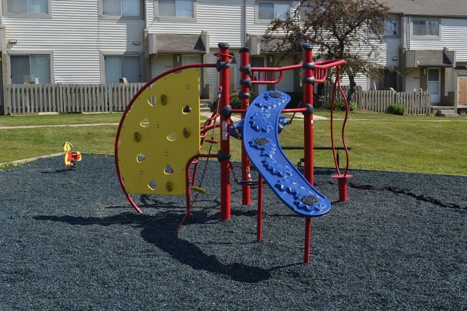 Children's Play Area at Sterling Lake Apartments,Sterling Heights Michigan
