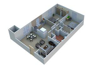 2 Bedroom  2A10