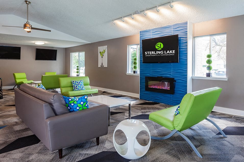Clubhouse with Upgraded Interiors at Sterling Lake Apartments,Michigan, 48312