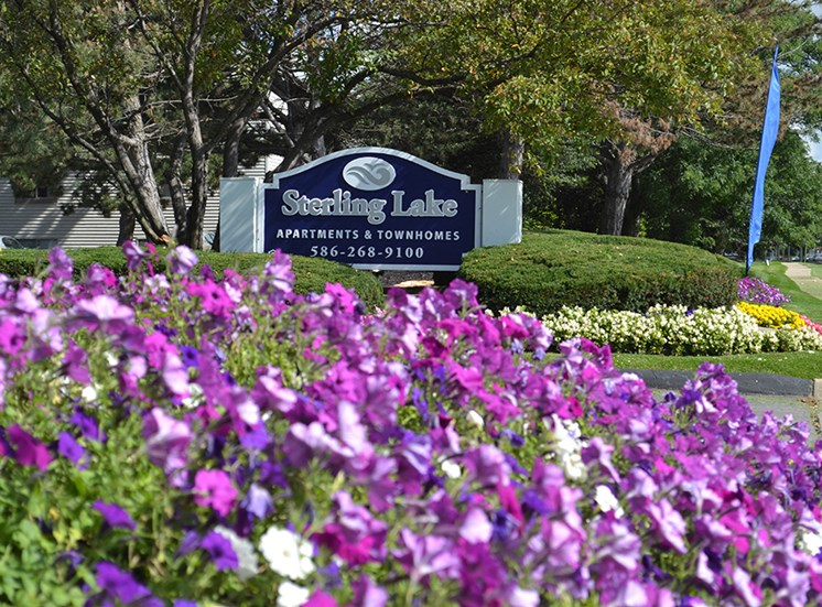 Serene, Park-Like Setting at Sterling Lake Apartments,Sterling Heights MI