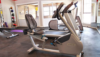 apartments in Amarillo with a fitness center