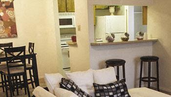 Kitchen of apartments in Amarillo