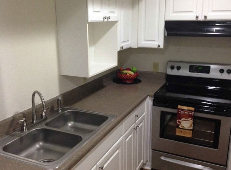 Updated Kitchen at LeClaire Apartments in Moline, IL