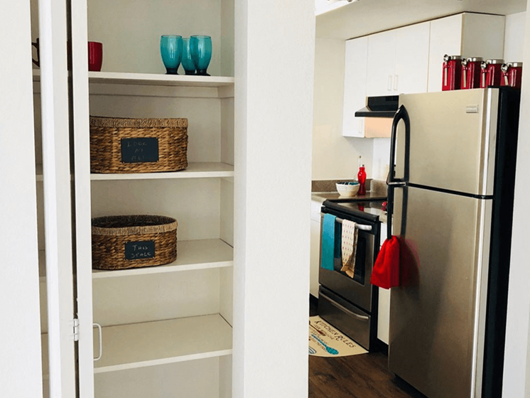 apartment with extra storage