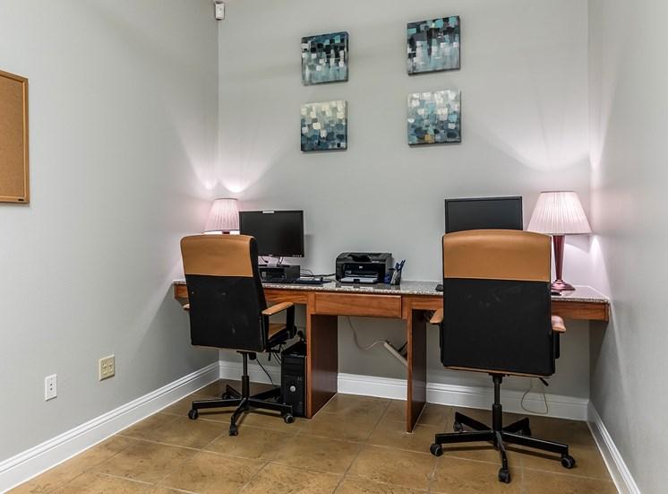 Business Center at Bridgemoor at Killeen in Killeen, Texas, TX