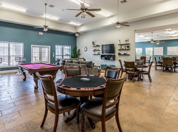 Poker Table at Bridgemoor at Killeen in Killeen, Texas, TX