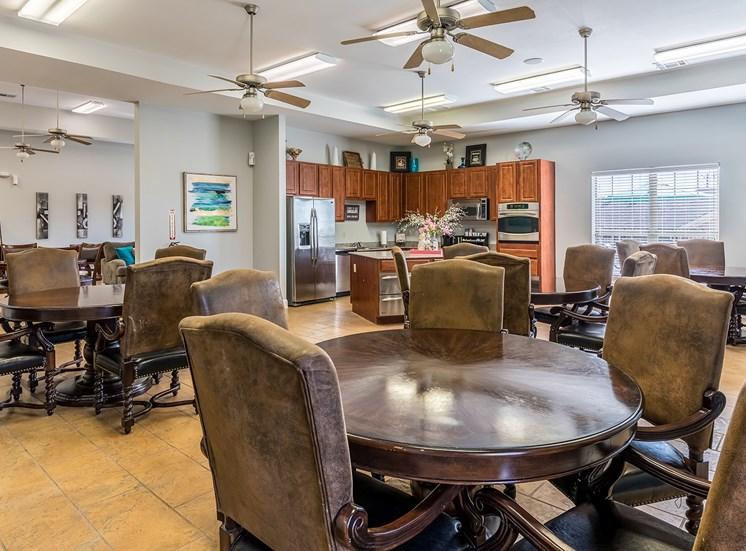 Party Room at Bridgemoor at Killeen in Killeen, Texas, TX