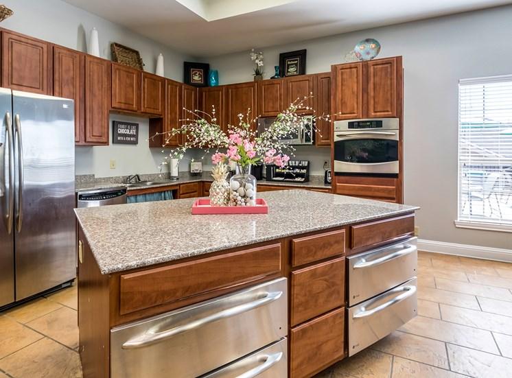 Catering Kitchen at Bridgemoor at Killeen in Killeen, Texas, TX