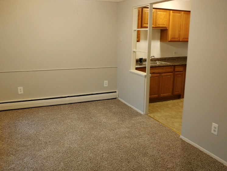 Plush carpeting at Green Acres Apartments,Saginaw, MI