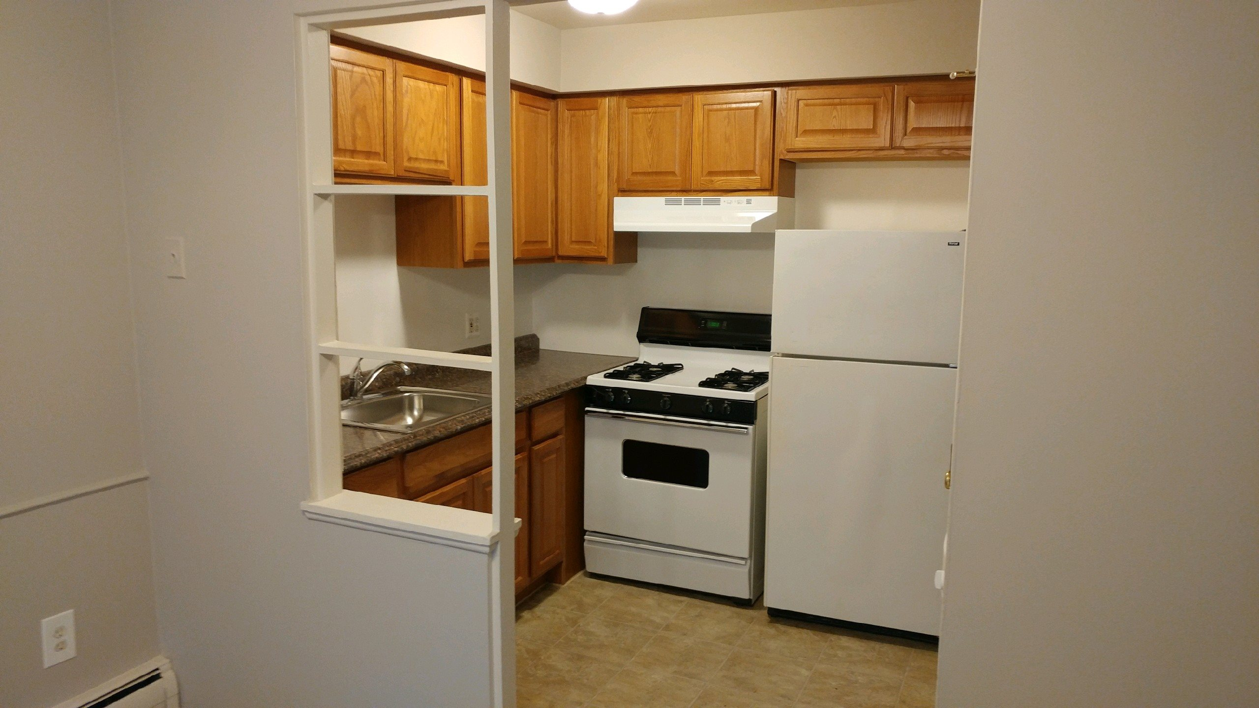 Bright Kitchen at Green Acres Apartments,4645 Colonial Drive, Saginaw MI, 48603